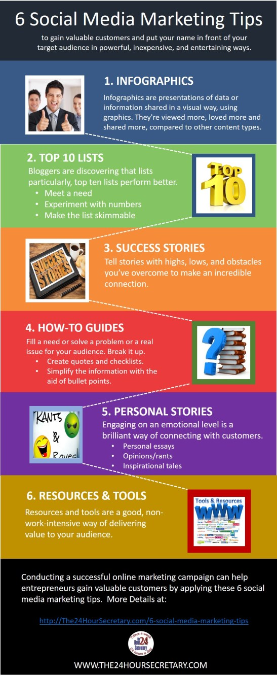 Marketing tips to gain valuable customers.