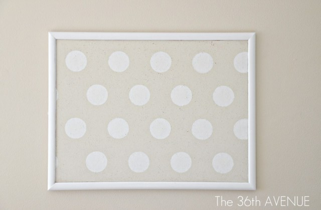 dotted-white-and-beige-board
