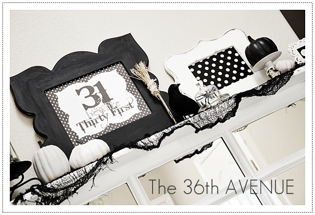 The 36th AVENUE Halloween Decor And Party Time The