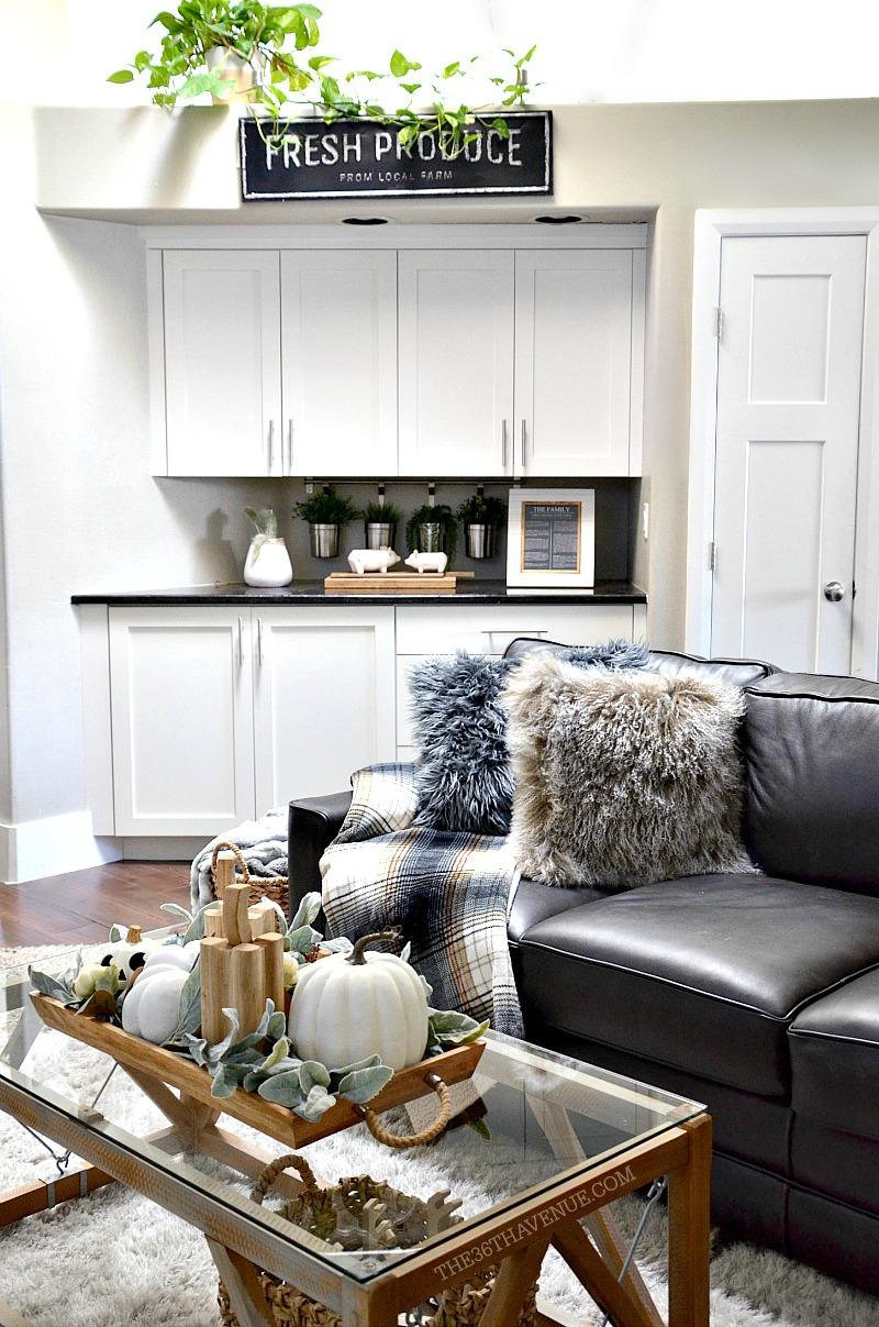 Living Room Farmhouse Decor Ideas | The 36th AVENUE