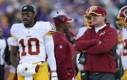 Who's to Blame Jay Gruden or Robert Griffin III