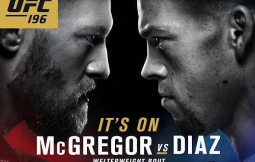 UFC 196 Preview: McGregor vs Diaz, Holm vs Tate