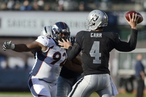 Game Of The Week- Denver Broncos vs. Oakland Raiders Preview