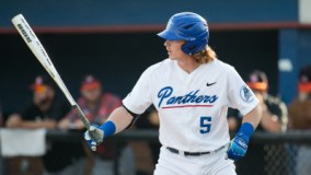 Georgia State rallied from a 6-2 deficit but fell 10-9 in the bottom of the ninth at Texas State.