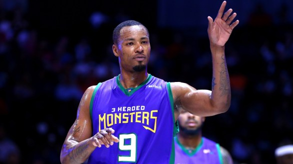 3 Headed Monsters Captain Rashard Lewis Named BIG3 Player Of The Week In Philadelphia