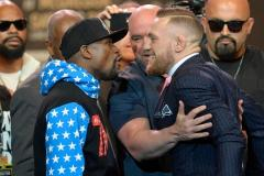 Mayweather vs McGregor World Press Tour: War of Words