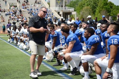 Georgia State Football: First Practice of 2017 is in the Books