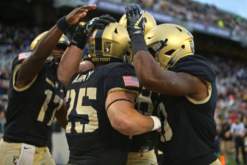 Army Rolls Over Rice In A Rout On Military Appreciation Day