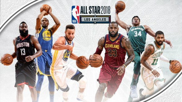 Here's Your 2018 NBA All Star Starters and Reserves