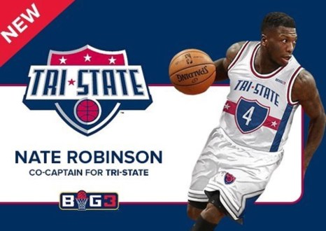 Three-Time Slam Dunk Champion Nate Robinson Joins BIG3, Teams Up With Tri-State