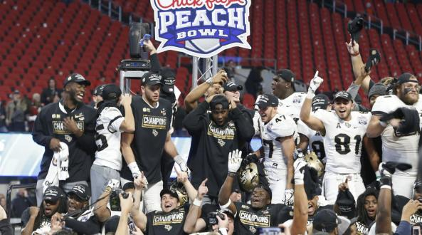 UCF Football-When A School Gets It Right