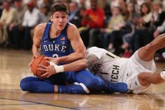 The Yellow Jackets' Second Half Surge Is Too Little Too Late Against the Blue Devils