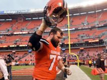 Joe Thomas Says Good-Bye