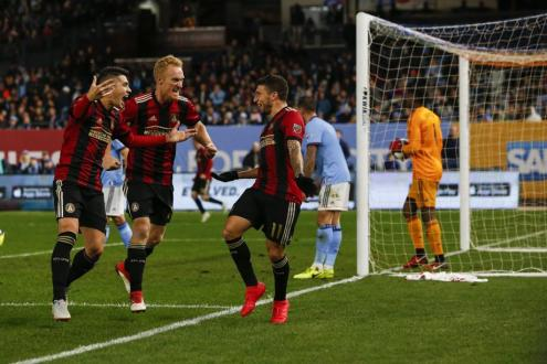 Atlanta Defeats NYCFC 1-0 In Leg One Of Eastern Conference Semifinals