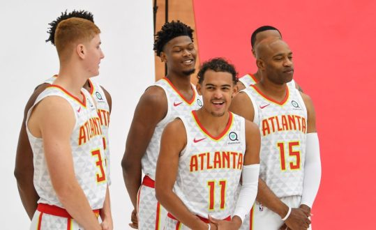 Atlanta Hawks Let It Out On Media Day