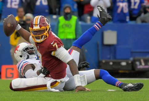 Redskins' Offense Struggles In 24-9 Loss To The Buffalo Bills