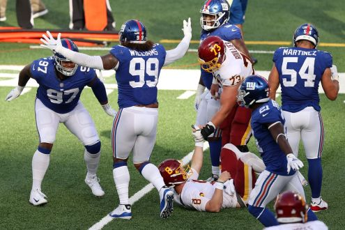Late Game Mistakes Cost Washington In 20-19 Loss To The Giants