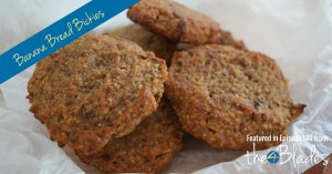 Thermomix Banana Bread Biscuits