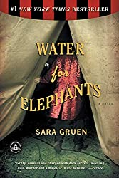 """Water for Elephants cover -- """"set on a form of transportation"""" prompt"""