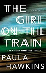 """The Girl on the Train cover -- a mystery read for the """"set on a form of transportation"""" prompt"""