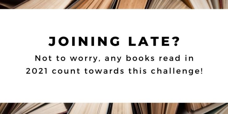 The 52 Book Club 2021 challenge guide: joining late? Not to worry, any books read in 2021 count!