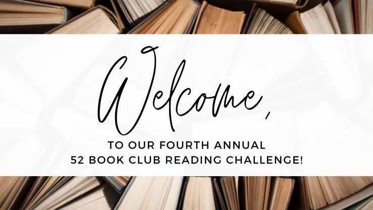 The 52 Book Club's 2021 Reading Challenge - 52 Books in 52 Weeks