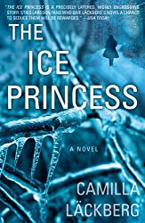The Ice Princess by Camilla Lackberg -- a cover with a woman facing away
