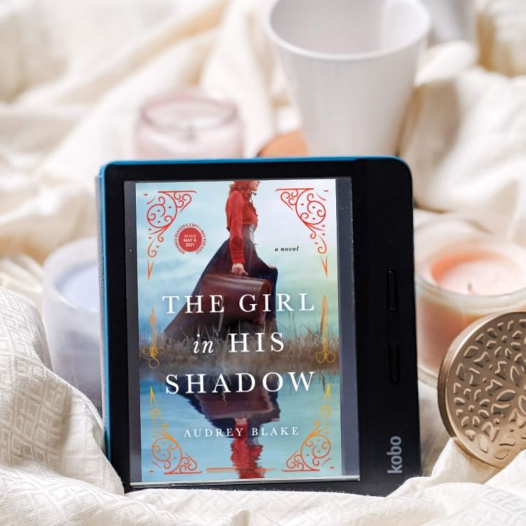 The Girl in His Shadow book cover on Kobo reader