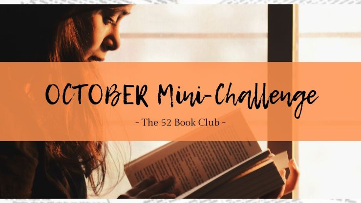 October 2021 Mini Challenge from The 52 Book Club