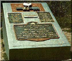 Woodstock Monument