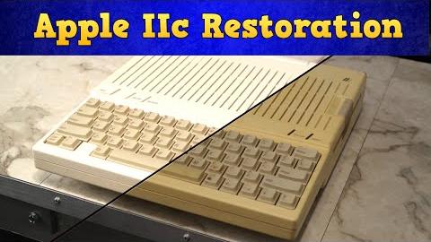 Apple IIc Restoration and Video Jack Repair