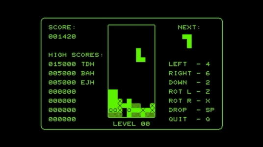 PET tetris