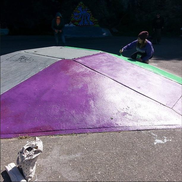 Prepped Purple Space Pyramid