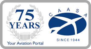 Proud Member of CAASA (THE COMMERCIAL AVIATION ASSOCIATION OF SOUTHERN AFRICA)