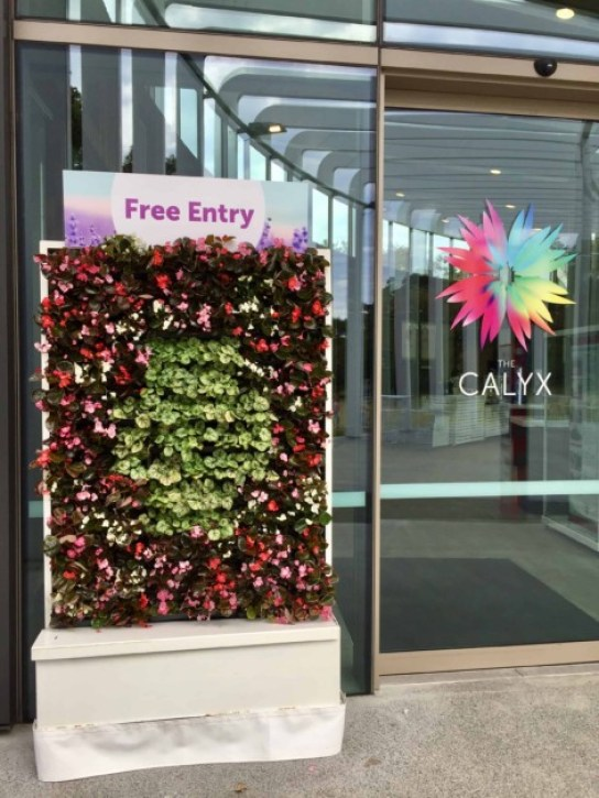Calyx entry sign