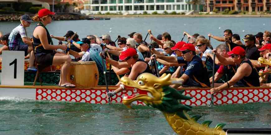 dragon boating SA