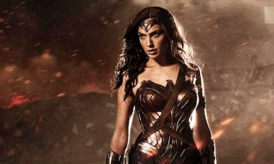 Gal Gadot as Wonder Woman in BVS: Dawn Of Justice