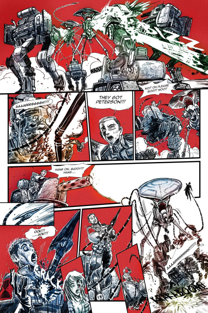 """Comic Art Pages from """"Horatio"""""""