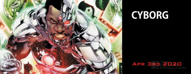 Cyborg (April 3rd - DC Comics - starring Ray Fisher). THE ACTION PIXEL @theactionpixel