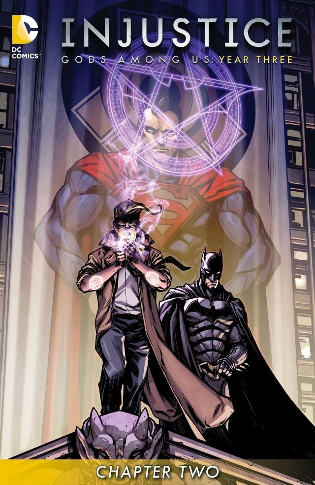 Injustice: Gods Among Us- Year 3 cover. © DC Comics