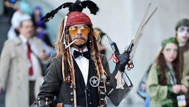 Every Johnny Depp role Cosplay. THE ACTION PIXEL @theactionpixel