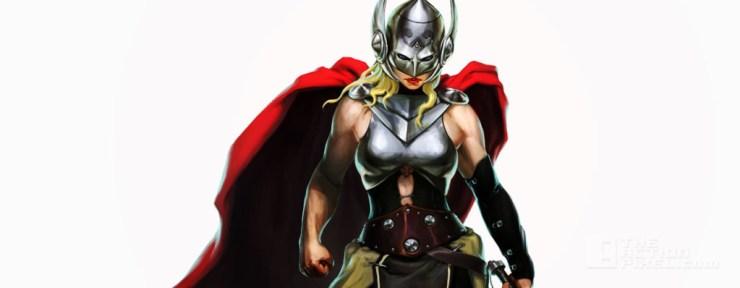 Thor Marvel Puzzle Quest @ theactionpixel.com