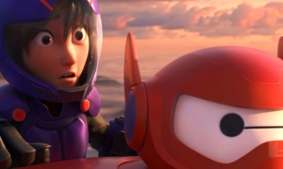 Hiro and Baymax in Big Hero 6 THE ACTION PIXEL @theactionpixel