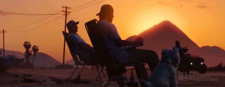 gta Trailer Rockstar. GTA V: FPS  THE ACTION PIXEL @theactionpixel