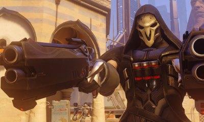 Reaper in Overwatch © Blizzard Ent. THE ACTION PIXEL @theactionpixel