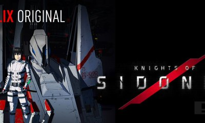 Knights Of Sidonia. netflix. polygon pictures. the action pixel. @theactionpixel. netflix