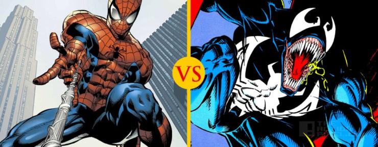 Spiderman vs. Venom THE ACTION PIXEL @TheActionPixel