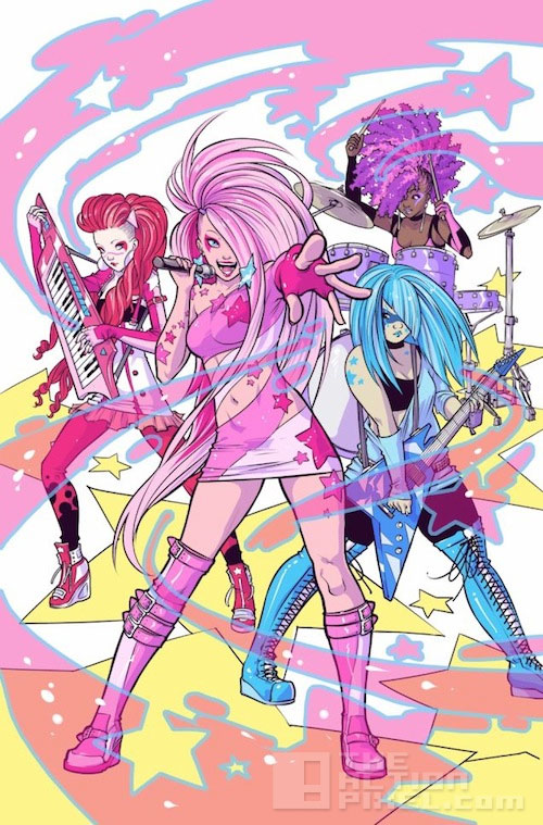 Jem and The Holograms. The Action Pixel. @TheActionPixel