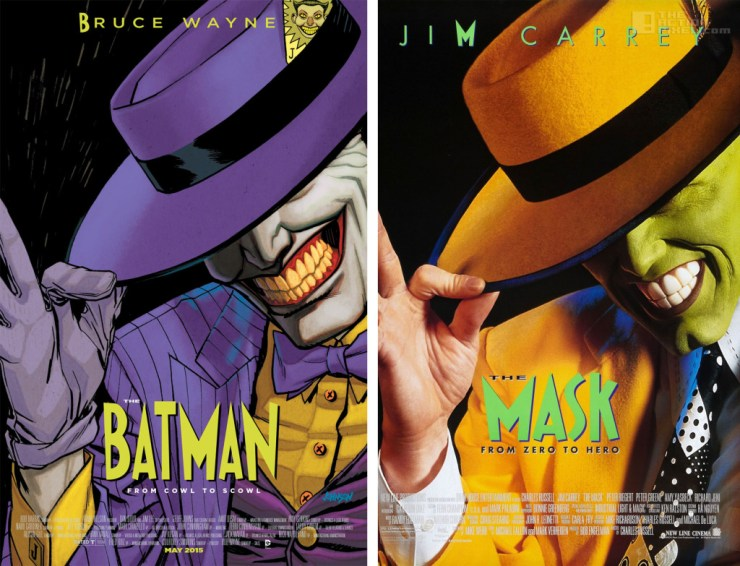 batman - the mask variant cover. dc comics. The Action pixel @theactionpixel