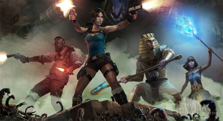 lara croft and the temple of Osiris. The Action Pixel. @TheActionPixel